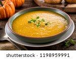 a bowl of delicious homemade...   Shutterstock . vector #1198959991