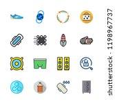 training icon set. vector set... | Shutterstock .eps vector #1198967737