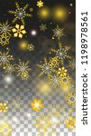 winter vector background with... | Shutterstock .eps vector #1198978561