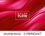 modern colorful flow poster.... | Shutterstock .eps vector #1198982647