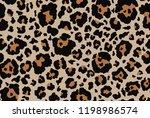 Stock photo leopard seamless pattern 1198986574