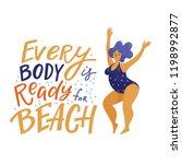 positive inspirational banner... | Shutterstock .eps vector #1198992877