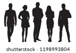 business men and women  group... | Shutterstock .eps vector #1198993804