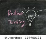 The Word Positive Thinking And...