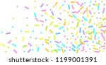 sprinkles grainy. sweet... | Shutterstock .eps vector #1199001391