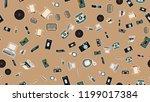 texture  seamless pattern of... | Shutterstock .eps vector #1199017384