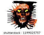 hand drawn illustration of... | Shutterstock .eps vector #1199025757