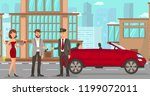 driver services in city.... | Shutterstock .eps vector #1199072011