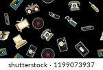 texture  seamless pattern of... | Shutterstock .eps vector #1199073937