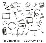 infographic elements on... | Shutterstock .eps vector #1199094541