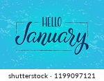 hand drawn lettering phrase... | Shutterstock .eps vector #1199097121