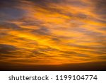 civil twilight sky with clouds | Shutterstock . vector #1199104774