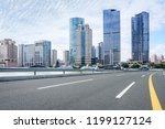 shanghai city road | Shutterstock . vector #1199127124