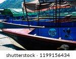 pokhara nepal october 9  2018... | Shutterstock . vector #1199156434