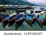 pokhara nepal october 9  2018... | Shutterstock . vector #1199156437