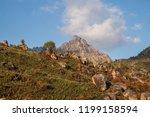 matambale peak on mount mulanje ... | Shutterstock . vector #1199158594