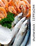 Seafood  Fish   Fresh Mackerel...