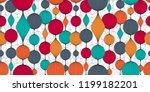 seamless abstract wallpaper ... | Shutterstock .eps vector #1199182201