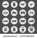 transport vector icons for web...   Shutterstock .eps vector #1199184694