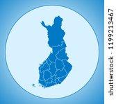 map of finland   Shutterstock .eps vector #1199213467