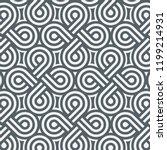 geometric vector pattern ... | Shutterstock .eps vector #1199214931