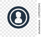 user vector icon isolated on...