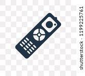 remote control vector icon... | Shutterstock .eps vector #1199225761