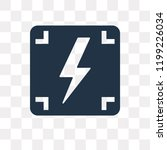 photograph vector icon isolated ... | Shutterstock .eps vector #1199226034