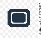 photograph vector icon isolated ... | Shutterstock .eps vector #1199227897