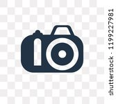 photograph vector icon isolated ... | Shutterstock .eps vector #1199227981