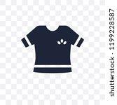 garment transparent icon.... | Shutterstock .eps vector #1199228587
