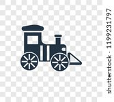 locomotive vector icon isolated ...   Shutterstock .eps vector #1199231797