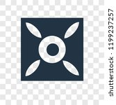 good luck vector icon isolated... | Shutterstock .eps vector #1199237257