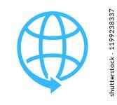 globe symbol icon. simple...