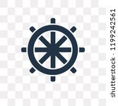 buddhism vector icon isolated... | Shutterstock .eps vector #1199242561