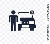dealer transparent icon. dealer ... | Shutterstock .eps vector #1199250301