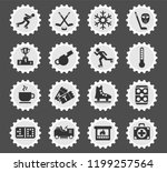 ice rink web icons stylized... | Shutterstock .eps vector #1199257564