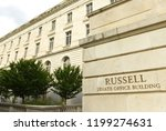 russell senate office building ... | Shutterstock . vector #1199274631