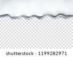 silver dripping liquid  chrome  ...   Shutterstock .eps vector #1199282971