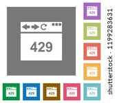 browser 429 too many requests... | Shutterstock .eps vector #1199283631