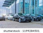 luxury cars mercedes benz c and ... | Shutterstock . vector #1199284501
