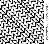 knitting. pattern facing.... | Shutterstock .eps vector #1199289484
