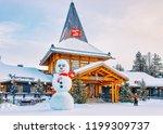 rovaniemi  finland   march 5 ... | Shutterstock . vector #1199309737