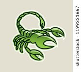 vector illustration of green... | Shutterstock .eps vector #1199331667