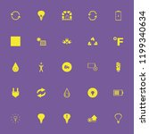 energy icon. energy vector... | Shutterstock .eps vector #1199340634