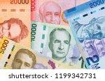 costa rican colon  a background ... | Shutterstock . vector #1199342731