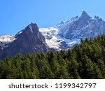 alps mountains france glacier | Shutterstock . vector #1199342797