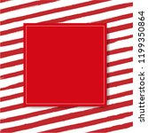 sale banner with red background ... | Shutterstock . vector #1199350864