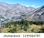 alps mountains france la grave... | Shutterstock . vector #1199364787