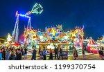 munich  germany   october 4 ...   Shutterstock . vector #1199370754